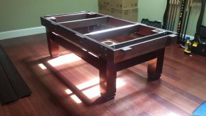 Pool and billiard table set ups and installations in Aurora Illinois